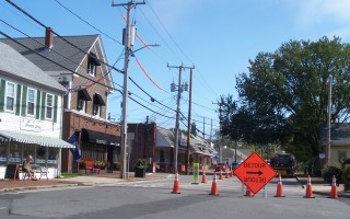 A state attorney has said that the town can't piggyback the construction of a central portion of the proposed downtown sewer system on the Commonwealth's Routes 6A/28 intersection project. Options were on the agenda of last night's selectmen's meeting. 
