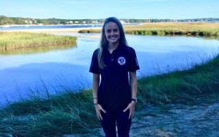 Emma Forbes of AmeriCorps Cape Cod will be working with local land steward organizations in Harwich and Chatham. COURTESY PHOTO  (photo: )
