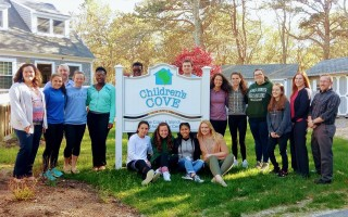 Students from Dennis-Yarmouth Regional High School created the Teen Task Force last year. This year, the program is coming to Monomoy High. COURTESY PHOTO  (photo: Courtesy Children's Cove)