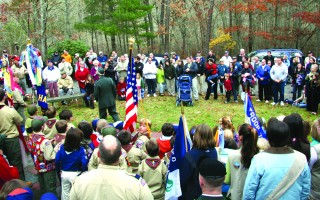 Harwich residents gather to honor veterans. FILE PHOTO  (photo: Alan Pollock)