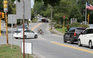 Proposed improvements to the Route 28-Crowell Road intersection will go before the board of selectmen Nov. 14. ALAN POLLOCK PHOTO  (photo: )