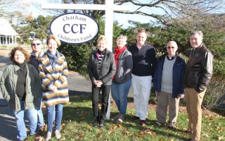 Children's Fund champions pose near the organization's headquarters on Stony Hill Road. ALAN POLLOCK PHOTO  (photo: Alan Pollock)
