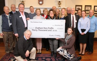 Big money...The Chatham fund distributed $30,000 to 10 local organizations that promote an improved quality of life in town. ALAN POLLOCK PHOTO  (photo: Alan Pollock)