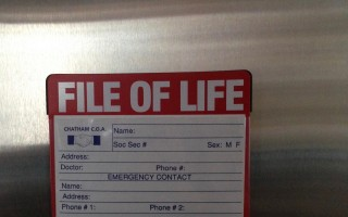 Having a File of Life on the refrigerator door can help rescue personnel provide the right treatment as soon as possible. DEBRA LAWLESS PHOTO  (photo: )