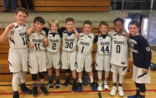 The Monomoy Grade 5 Youth Hoops team had an impressive 2018 season that included a tournament run, and several come-from-behind victories. Team members include (not in order): Chase Yarletts, Chase Robbins, Brady Grogan, Finn Hyora, Cole Strzepek, Braden Burke, Jackson Rocco, and Tamarr Washington. Contributed Photo  (photo: )
