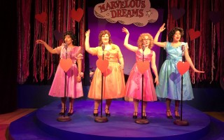"The cast of ""The Marvelous Wonderettes,"" from left: Heidi Cloutier, Julia Wiseman, Madison Mayer and Isabelle Archer. COURTESY PHOTO  (photo: )"