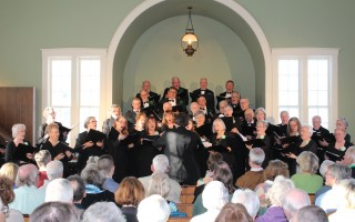 The Chatham Chorale performed before a full house at the South Harwich Meetinghouse on Saturday. There were four concerts celebrating the grand opening of the town-owned meetinghouse that has gone through 13 years of preservation and restoration.  WILLIAM F. GALVIN PHOTO  (photo: William F. Galvin)