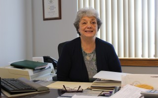 Town Clerk Anita Doucette is going to non-union compensation plan salary range. WILLIAM F. GALVIN PHOTO  (photo: William F. Galvin)