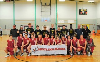 The Cape Cod Sports Ambassadors has been organizing international exchange trips between youth athletes since 1968 and is celebrating 50 years this year. In 2014 local basketball players hosted student athletes from Belgium. The next group arrives this week. CONTRIBUTED PHOTO  (photo: )