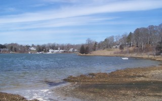 How to best use town landings such as this one at Meetinghouse Pond may be the topic of a study by the shellfish and waterways advisory committee. ED MARONEY PHOTO  (photo: )