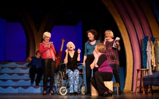 "Karen Santos, Deb Stringham, Sherrie Scudder, Sue Lindholm and Celeste Howe in ""Wrinkles, the Musical."" NICOLE GOWAN PHOTOGRAPHY   (photo: )"