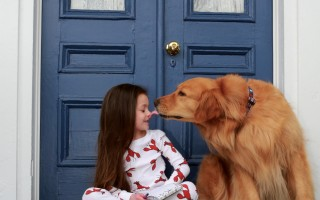 "Kaylee and Charlie in one of the photos from ""Kaylee Finds a Friend."" KIM RODERIQUES PHOTO  (photo: )"
