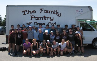 Summertime can also be a fun time to pitch in for the Family Pantry, as these Camp Wingate volunteers attest. FILE PHOTO  (photo: Courtesy Photo)