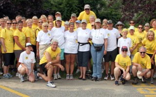 Dedicated folks take part in the Bob Murray Housing With Love Walk.  FILE PHOTO  (photo: Alan Pollock)