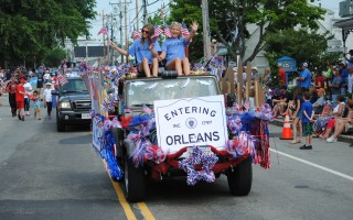Orleans mounted a festive July 4 parade. BARRY DONAHUE PHOTO  (photo: )