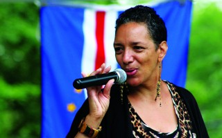 Cape Verdean singer Candida Rose will be performing at the festival in Brooks Park this Saturday.  FILE PHOTO  (photo: File photo)