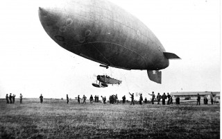 A blimp is launched at the Chatham Naval Air Station. PHOTOS COURTESY OF THE CHATHAM HISTORICAL SOCIETY  (photo: )