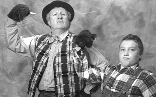 Peter Jurasik and Joe Tagliaferri, in Cape Cod Theatre Company/Harwich Junior Theatre's 'The Arkansaw Bear', 2004. PHOTO COURTESY OF AMY TAGLIAFERRI  (photo: )