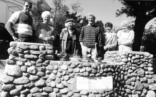Dedicating watering trough garden, downtown Chatham. 1990s. FILE PHOTO  (photo: )
