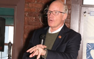 U.S. Rep. William Keating spoke at an annual gathering of Harwich Democrats Saturday. ALAN POLLOCK PHOTO  (photo: Alan Pollock)