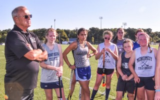 Bonollo has coached field hockey in the past at Bellingham and Franklin high schools. Monomoy's season opens at home Sept. 13. KAT SZMIT PHOTO  (photo: )