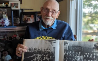 As a teen, Ivan Bassett served on the cruiser USS Boston, which saw heavy action in the World War II Pacific Theater. ALAN POLLOCK PHOTO  (photo: Alan Pollock)