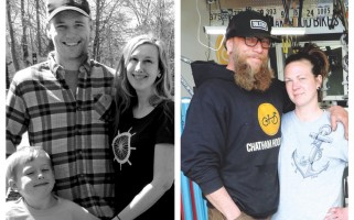 Bringing bikes to Chatham are Dan Bergquist and Sarah Upton-Bergquist outside Wheelhouse Bike Company (left) and Jimmy Ponte and Krista Wimberly-Ponte at Chatham Hood Bikes. Annemarie Della Morte Photos  (photo: )