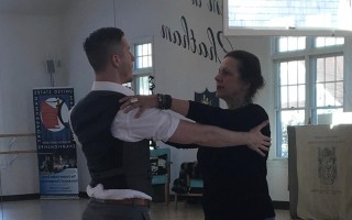 "Cape Cod Hospital physician Mary Ann Harwood of Chatham will team up with professional dancer Adam Spencer at the ""Dancing With the Docs Cape Cod"" fundraiser Saturday.   (photo: )"