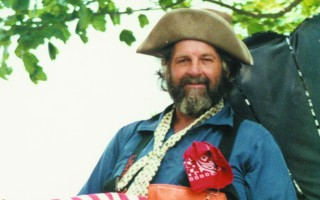 Paul Lucas as Captain Eelgrass in a Chatham Fourth of July parade in the 1980s. FILE PHOTO  (photo: )