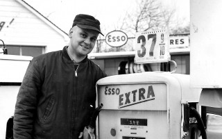 Joe Avellar at his Esso Station in 1958, presently Kinlin Gover in Chatham. Photo submitted by Norma Avellar.  Richard Kelsey photo  (photo: )