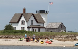 Kayakers on Harding's Beach, Chatham.  FILE PHOTO  (photo: Alan Pollock)