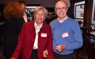 Sheila and Preston Smith at The Chronicle's 50 th  anniversary party in 2015. FILE PHOTO  (photo: Kat Szmit)