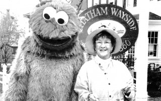 Cookie Monster (Tony Guthrie) and Sheila Smith, Spring Fling 1980s.  FILE PHOTO  (photo: )