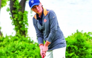 After placing second in the New England High School Championship in June, Jen Keim went on to win the US Challenge Cup Junior Championship and placed second in the WGAM Amateur Championship in the same week. She was named Golfer of the Year by the Boston Globe, and recently headed south to begin her freshman year at Florida Atlantic University. KAT SZMIT PHOTO 