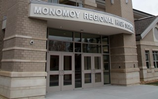 Entrance to Monomoy Regional High School.  (photo: )