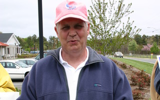 Known for his pink hat, former selectman Peter Luddy passed away on Friday. CHRONICLE FILE PHOTO  (photo: )