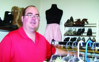 Mike Werbick started the Lucky Day Thrift Shop in West Harwich after recovering from a kidney transplant, and plans to donate a percentage of profits to help others going through the same ordeal. ELLEN C. CHAHEY PHOTO  (photo: )