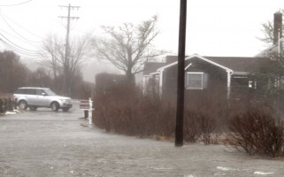 Coastal flooding in North Chatham during a storm in March. FILE PHOTO  (photo: Alan Pollock)