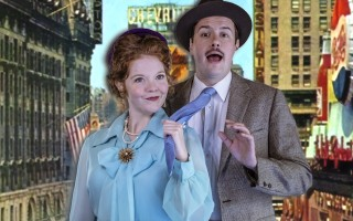 "Alycia Kunkle and Casey Predovic in ""Guys and Dolls"" at the Monomoy Theatre.  (photo: )"