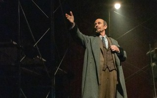"Robin Haynes as Lenin in ""Lenin's Embalmers"" at Wellfleet Harbor Actors Theater. MICHAEL AND SUZ KARCHMER PHOTO  (photo: )"