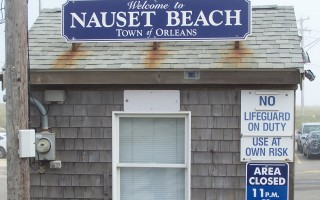 At Nauset Beach, everyone except resident taxpayers pays to park. In their own towns, residents of Chatham, Eastham, and Harwich pay $25 for a sticker, and Brewster residents $40.  ED MARONEY PHOTO  (photo: Ed Maroney)