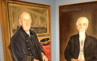Sea captains subject of Atwood House exhibit. DEBRA LAWLESS PHOTO  (photo: )