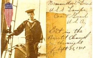 Norman Finch, aboard the U.S. Coast Guard Cutter Tampa. COURTESY PHOTO  (photo: Courtesy Nancy Finch)