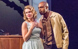 "Samantha Able and Chauncy Thomas ""Alabama Story"" at WHAT. MICHAEL/SUZ KARCHMER PHOTO  (photo: )"
