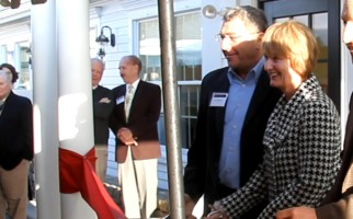 David and Gail Oppenheim cut the ceremonial ribbon at the Oppenheim Medical Building in 2013. FILE PHOTO  (photo: )
