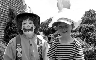 Firefighter Kate and Rowan Wood, Chatham. 2005. FILE PHOTO  (photo: )