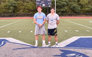 Monomoy's MIAA Ambassadors, Jason Masiello and Riley Demanche, attended the New England Student Leadership Conference this summer, learning skills both said will benefit them, their teams, and their school immensely. Kat Szmit Photo  (photo: )