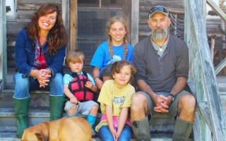The Swain family. From left, Sarah, Stanley, Lucy, Jesse and Steve. COURTESY PHOTO  (photo: )