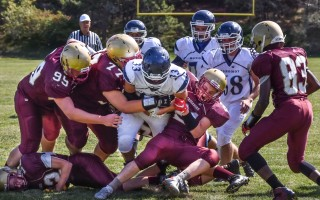 Monomoy and Cape Cod Tech football teams get their season started this Friday, Sept. 9 when they meet in the Shark Tank at MRHS for a 7 p.m. game. Chronicle File Photo  (photo: Kat Szmit)