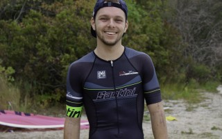 Ryan Richer of Harwich began competitive triathlons in 2013 after completing the Hyannis Tri, a race he recently won. Contributed Photo  (photo: )
